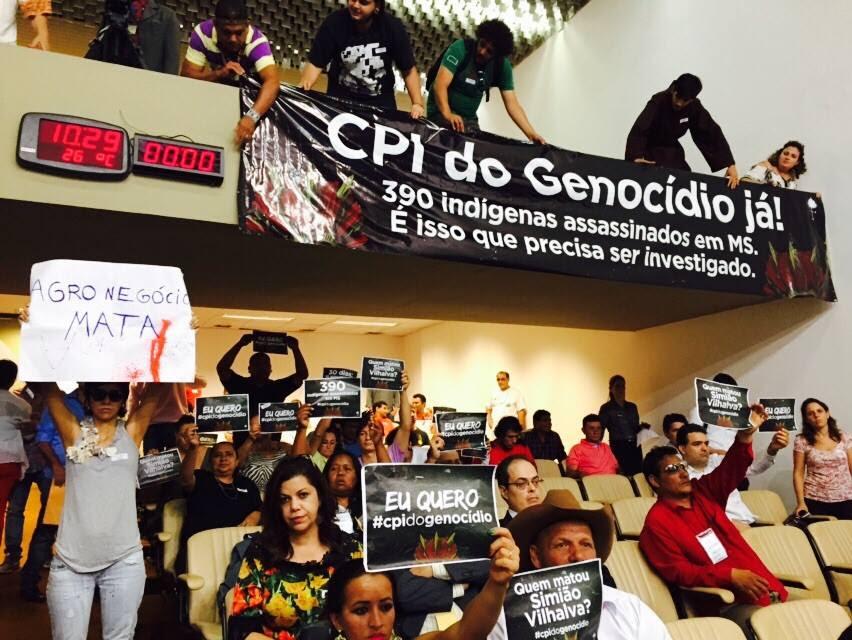 Movimentos sociais do MS pedem CPI do Genocídio